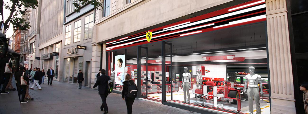 Formula 1 Retail Concept